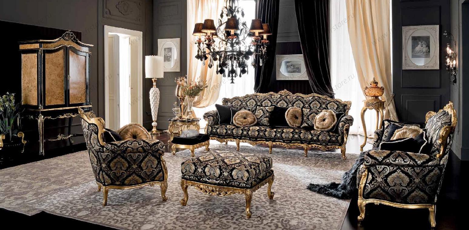классическая мягкая мебельсалон французской мебели Stely De France