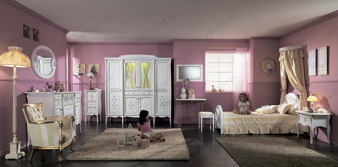 детская мебель классика для комнаты девочки диваны кровати из