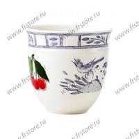Набор из 2 чаш для кофе. Oiseau Bleu Fruits