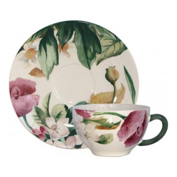 Чашка для чая с блюдцем. Volupté