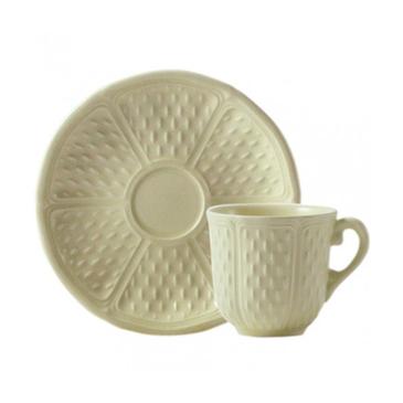Чашка для кофе с блюдцем. Pont aux choux Maïs