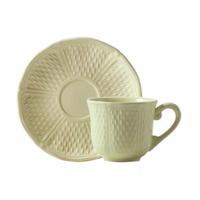 Чашка для чая с блюдцем. Pont aux choux Maïs