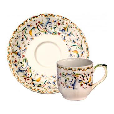 Чашка для кофе с блюдцем. Toscana gien