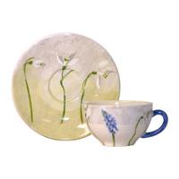 Чашка для чая с блюдцем. Alice gien