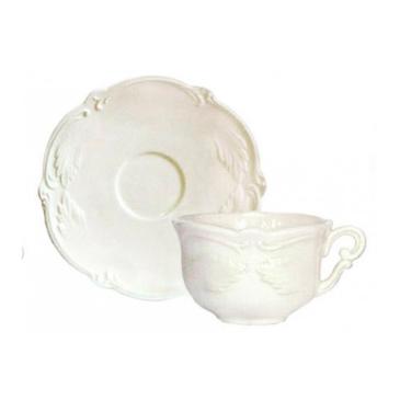 Чашка для чая с блюдцем. Rocaille gien