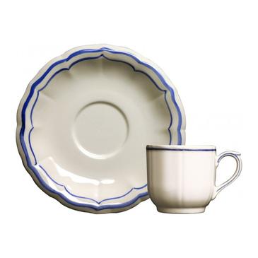 Чашка для кофе с блюдцем. Filet Bleu
