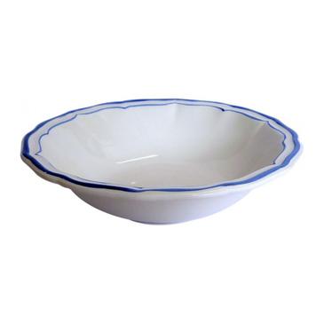Набор из 4 тарелок для завтрака. Filet Bleu