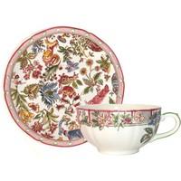 Чашка с блюдцем для завтрака. Jardin Imaginaire