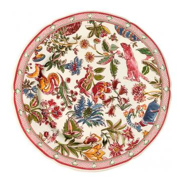 Набор из 6 тарелок для салата. Jardin Imaginaire