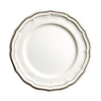 Набор из 4 обеденных тарелок. Filet taupe