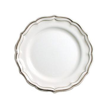 Набор из 4 десертных тарелок. Filet taupe