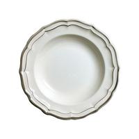 Набор из 4 тарелок для супа. Filets taupes