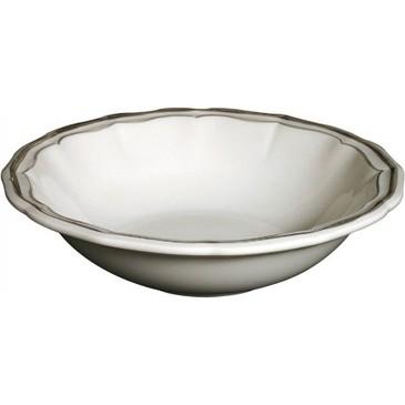 Набор из 4 глубоких тарелок. Filet Taupe