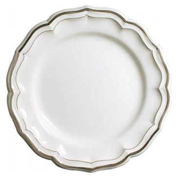 Блюдо круглое глубокое. Filet taupe