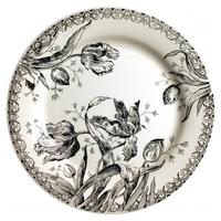 Обеденная тарелка. Tulipes noires