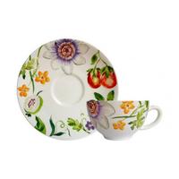 Чашка для чая с блюдцем. Passiflore