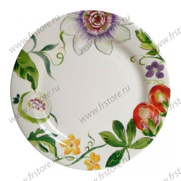 Обеденная тарелка. Passiflore