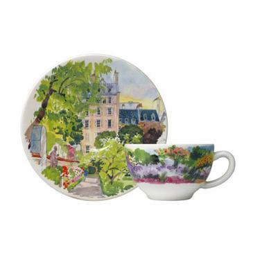 Чашка для чая с блюдцем. Paris à Giverny