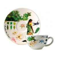 Чашка для чая с блюдцем. Route des Indes