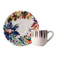 Чашка для кофе с блюдцем. Eden gien