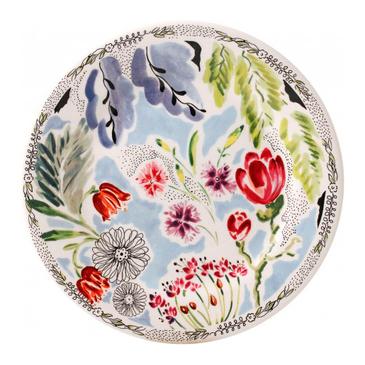 Набор из 6 десертных тарелок. Flora