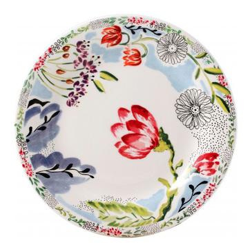 Набор из 6 тарелок для канапе. Flora