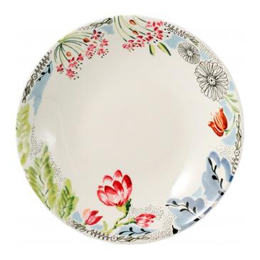 Набор из 6 тарелок для супа. Flora