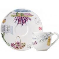 Чашка для кофе с блюдцем. Provence gien