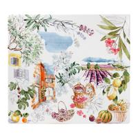 Тарелка квадратная большая. Provence gien
