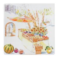 Тарелка квадратная. Provence gien