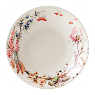 Тарелка для супа. Bouquet gien