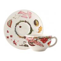 Чашка для чая с блюдцем. Bouquet gien