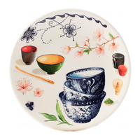 Тарелка для канапе. Teatime