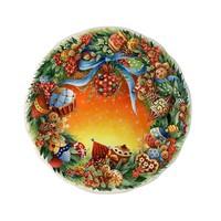 Тарелка для канапе Noel 2007