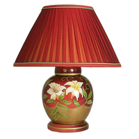 Лампа с цветами