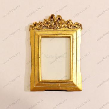 Рамка золотая малая