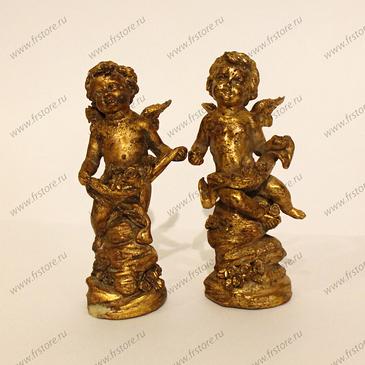 Ангел декоративная фигурка золото