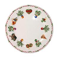 Десертная тарелка Joyeux Noel