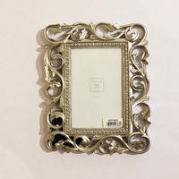 Рамка серебро для фото 10*15 см.