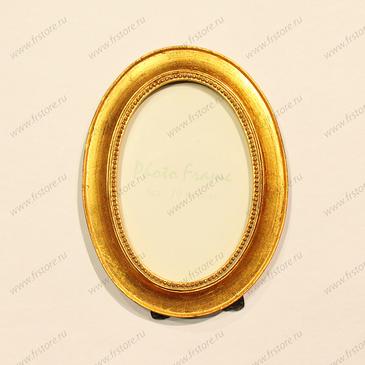 Рамка овальная золото 10*15