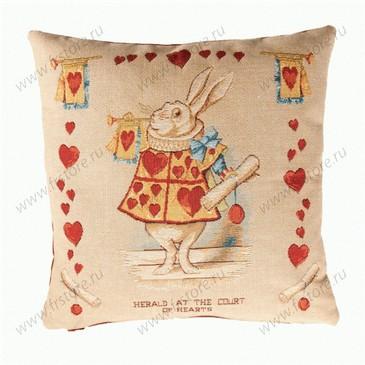 "Подушка ""Белый кролик"" 50*50"