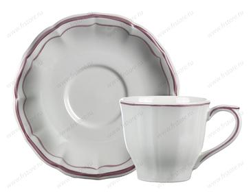 Чайная пара Filet Rose