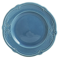Десертная тарелка. Rocaille Bleu givre
