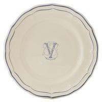 Десертная тарелка Monogramme Filet Bleu Gien