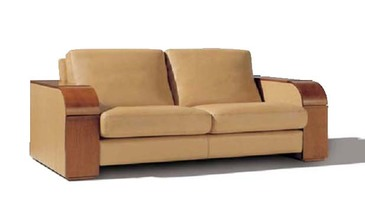 Duviver Диван Оазис, кожаный диван.