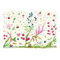 Салфетка текстильная с влагоотталкивающим покрытием. Bouquet gien