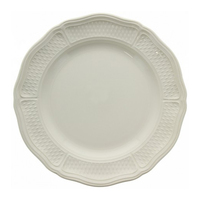Набор из 4 обеденных тарелок. Pont aux choux blanc