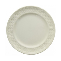 Набор из 4 тарелок для канапе. Pont aux choux blanc
