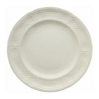 Набор из 4 десертных тарелок. Pont aux choux blanc