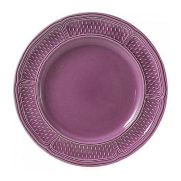 Набор из 4 обеденных тарелок. Pont aux choux améthyste
